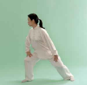 Qigong pose