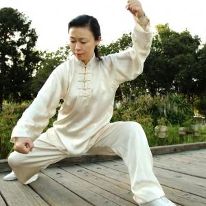 Tai Chi pose